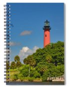 255- Becca Lee - Jupiter Lighthouse Spiral Notebook