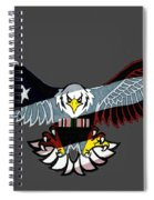 25th Anniversary Desert Storm Spiral Notebook