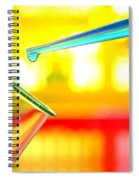 Laboratory Experiment In Science Research Lab Spiral Notebook