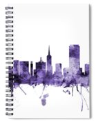 San Francisco City Skyline Spiral Notebook