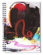Abstract Landscape Painting Spiral Notebook