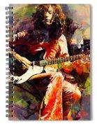 Jimmy Page. Led Zeppelin. Spiral Notebook