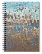 Metal Background Spiral Notebook