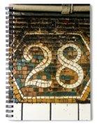 28th Street Spiral Notebook