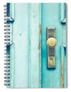 Blue Door Spiral Notebook