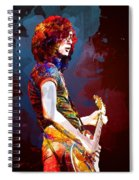 Jimmy Page. Led Zeppelin. Spiral Notebook