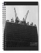 World Trade Center Under Construction 1967 Spiral Notebook