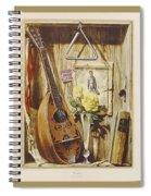 29445 Jesus Helguera Ausencia Spiral Notebook