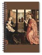 2luke Rogier Van Der Weyden Spiral Notebook