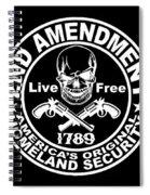 2nd Amendment Spiral Notebook