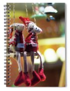2x5e Mouse Love London  Spiral Notebook