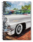 1959 Lincoln Continental Town Car Mk Iv Painted  Spiral Notebook