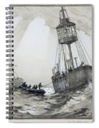 A Lightship's Xmas Dinner Spiral Notebook