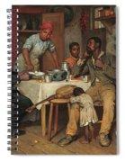 A Pastoral Visit Spiral Notebook