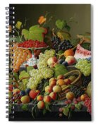 Abundant Fruit Spiral Notebook