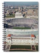 Aerial View Of A Stadium, Soldier Spiral Notebook