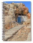 Agioi Saranta Cave Church - Cyprus Spiral Notebook