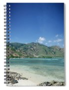 Areia Branca Tropical Beach View Near Dili In East Timor Spiral Notebook