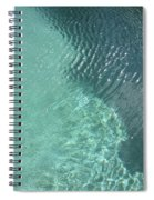Art Homage David Hockney Swimming Pool Arizona City Arizona 2005 Spiral Notebook