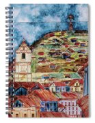 Artisan Market In Quito Spiral Notebook