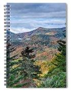 Autumn Foliage On Blue Ridge Parkway Near Maggie Valley North Ca Spiral Notebook