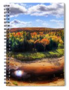 Autumn In Arrowhead Provincial Park Spiral Notebook