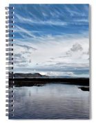 Back Beach 2 - Lyme Regis Spiral Notebook
