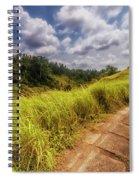 Bali Landscape Spiral Notebook