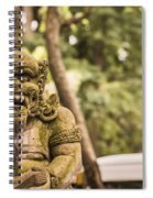 Bali Sculptures Spiral Notebook