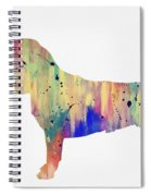 Beagle-colorful Spiral Notebook