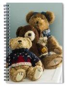 3 Bears Spiral Notebook
