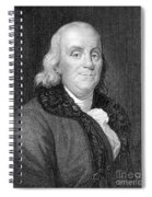Benjamin Franklin (1706-1790) Spiral Notebook
