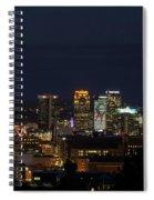 Birmingham Skyline Spiral Notebook