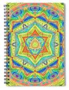 Birth Mandala- Blessing Symbols Spiral Notebook