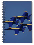 Blue Angels Spiral Notebook