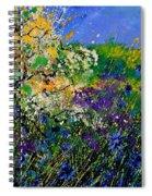 Blue Cornflowers  Spiral Notebook