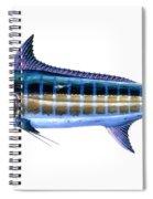Blue Marlin Spiral Notebook