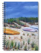3 Boats Spiral Notebook