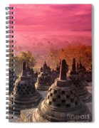 Borobudor Temple Spiral Notebook