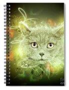 British Shorthair Cat Spiral Notebook