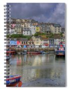 Brixham Harbour Spiral Notebook