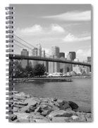 Brooklyn Bridge - New York City Skyline Spiral Notebook