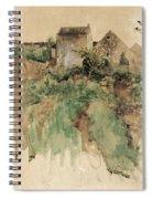 Bruno Liljefors Spiral Notebook