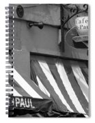 Cafe St. Paul - Montreal Spiral Notebook