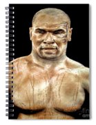 Champion Boxer And Actor Mike Tyson Spiral Notebook