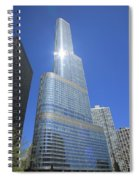 Chicago Skyscraper Spiral Notebook