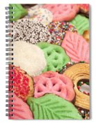 Christmas Cookies Spiral Notebook