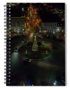 Christmas Lights, Looking West Spiral Notebook