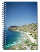 Coast And Beach View Near Dili In East Timor Leste Spiral Notebook