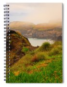 Coastal Landscape Spiral Notebook